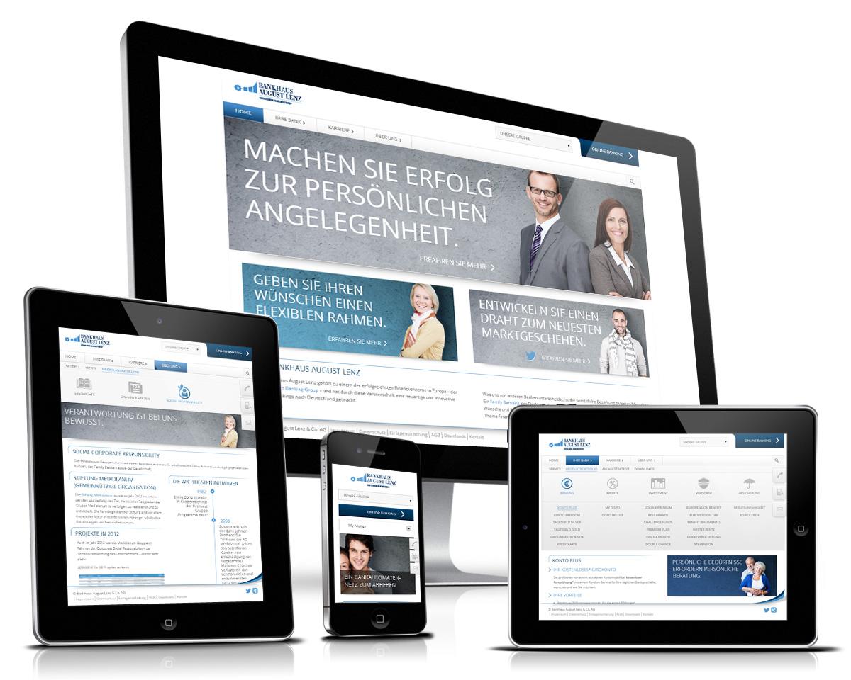 Bankhaus Lenz Informationsarchtitektur Programmierung