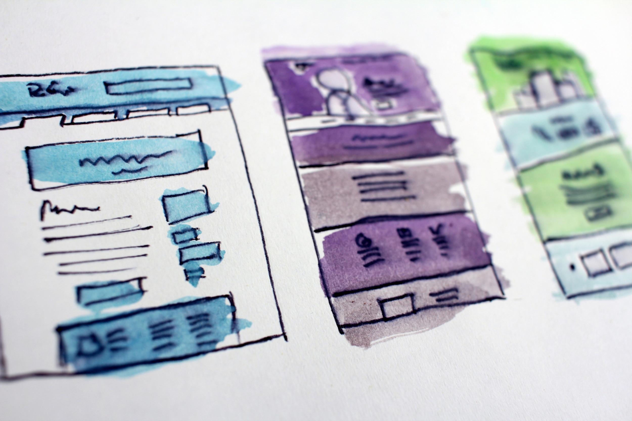 Planung digitaler Projekte - Requirements Engineering - Grobkonzept- Website Wireframes - MVP Prototyping